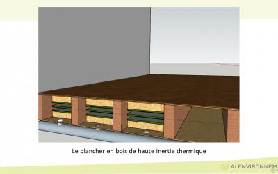 Le plancher en bois rafraîchissant